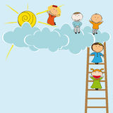 Kids card Stock Images