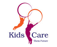 Kids Care Logo. Logo Design for kids care agency Royalty Free Stock Photos