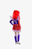 Kids carnival costume Royalty Free Stock Image