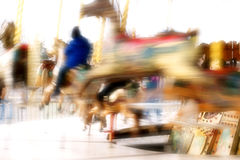 Kids Carousel Stock Photography