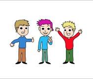 Kids cartoon stock image