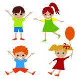 Kids cartoon Royalty Free Stock Photos