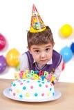 Kids celebrating birthday party Stock Image