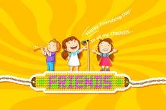 Kids celebrating Friendship Day Stock Photography