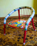 Kids chair Royalty Free Stock Photos