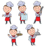 Kids chefs Stock Photos