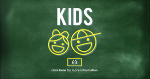 Kids Children Childhood Boys Girls Concept Royalty Free Stock Photography
