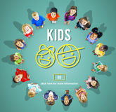 Kids Children Childhood Boys Girls Concept Royalty Free Stock Image
