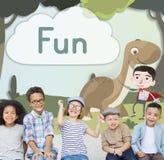 Kids Children Childhood Imagination Happy Concept Stock Photos
