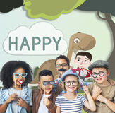 Kids Children Childhood Imagination Happy Concept. Kids Children Childhood Imagination Happy Royalty Free Stock Photo