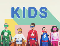 Kids Children Childhood Youth Concept Royalty Free Stock Images
