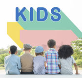 Kids Children Childhood Youth Concept Royalty Free Stock Photo