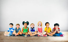 Kids Children Diversity Happiness Group Cheerful Concept Royalty Free Stock Photo