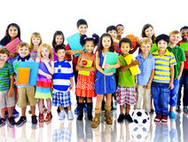 Kids Children Elementary Age Diversity Concept Stock Image
