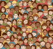 Kids / Children / Seamless pattern Royalty Free Stock Photography