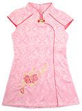Kids chinese dress for girls on background Stock Photography
