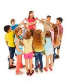 Kids choosing their leader Stock Photos