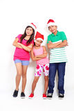 Kids At Christmas Royalty Free Stock Photo