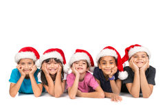 Kids and Christmas Royalty Free Stock Photography