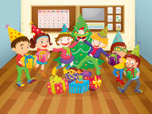 Kids in class room Royalty Free Stock Photography