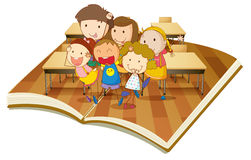 Kids in classroom Stock Photography