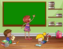 Kids in a classroom Stock Photography