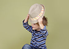 Kids Clothing and Fashion Royalty Free Stock Image