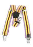 Kids colored suspenders Royalty Free Stock Photography
