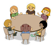 Kids Conference Royalty Free Stock Photos