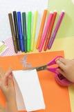 Kids crafts Royalty Free Stock Photo