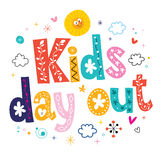 Kids day out Stock Images