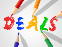 Kids Deals Indicates Sale Youngsters And Toddlers. Kids Deals Meaning Childhood Discount And Promotional Stock Photos