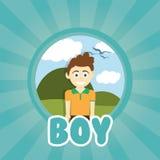 Kids design Royalty Free Stock Image
