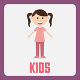 Kids design Royalty Free Stock Photo