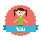 Kids design Stock Photography