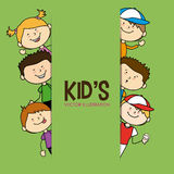 Kids design Royalty Free Stock Photography