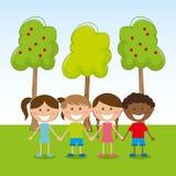 Kids design Stock Photo