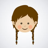 Kids design Royalty Free Stock Images
