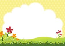 Kids Diploma Certificate Background Stock Photo