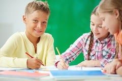 Kids drawing Stock Photo