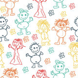 Kids Drawings Royalty Free Stock Images