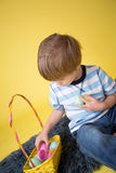 Kids Easter Activity and Crafts Royalty Free Stock Photo