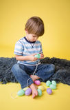 Kids Easter Activity and Crafts Stock Photos