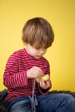 Kids Easter Activity and Crafts Royalty Free Stock Photos
