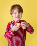 Kids Easter Activity and Crafts Royalty Free Stock Image