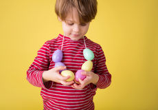 Kids Easter Activity and Crafts Royalty Free Stock Photography