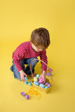 Kids Easter Activity and Crafts Stock Photo