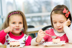 Kids eating Stock Photos