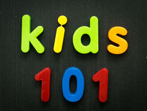 Kids 101 Royalty Free Stock Photography