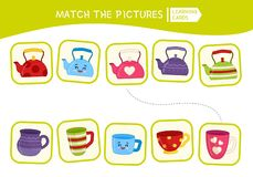 Kids Educational Game Stock Images